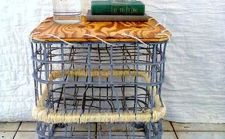 everyone uses vintage milk crates for storage except for me , outdoor furniture, repurposing upcycling