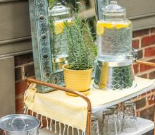 outdoor garden party patio style, home decor, seasonal holiday decor