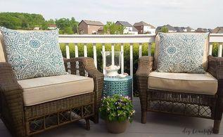 patio update, home decor, patio