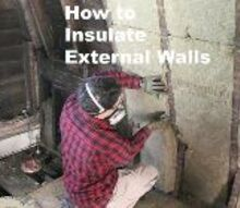 how to insulate external walls and decrease utility bills , dining room ideas, home maintenance repairs, how to, hvac