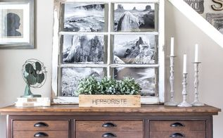 antique printer s cabinet makeover, rustic furniture