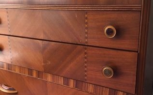 q best way to clean strip and preserve veneer wood, cleaning tips, woodworking projects, Tall dresser