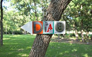 father s day gift diy dad wall art, crafts, seasonal holiday decor