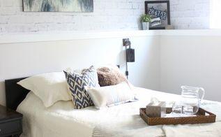 modern industrial bedroom, bedroom ideas, home decor, Guest Bedroom After