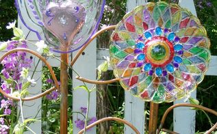 have we tired of glass flower art yet , crafts, gardening, how to