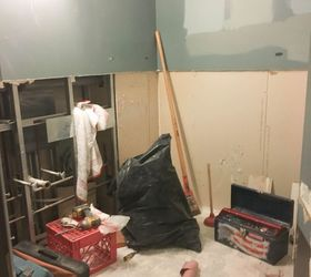 bye bye builder s grade bathroom renovation bathroom ideas home improvement