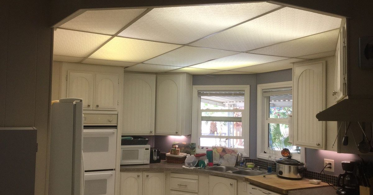 Kitchen ceiling lights need gone now what color to paint help hometalk Help design kitchen colors