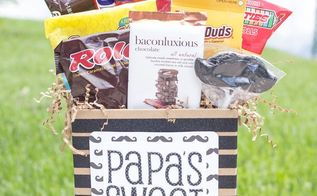 sweet stache easy father s day gift, seasonal holiday decor