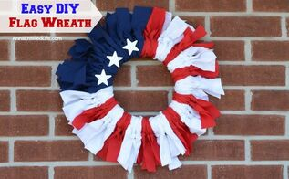 American Flag Toothpick Wreath Hometalk