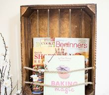 diy crate bookshelf, diy, home decor, repurposing upcycling, shelving ideas, storage ideas, woodworking projects