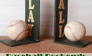 bookends for a sports loving dad, crafts, seasonal holiday decor