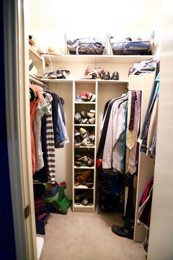 Master Closet Makeover Hometalk