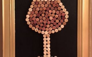 wine cork art diy picture frame with wine corks, crafts, how to, repurposing upcycling, wall decor