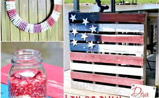 5 quick and easy diy 4th of july decorations, crafts, how to, mason jars, patriotic decor ideas, seasonal holiday decor, Make 5 Quick and Easy July 4th Decorations