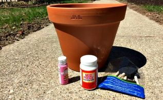 your favorite pictures on a flower pot craft idea and diy read mor, crafts, diy, gardening