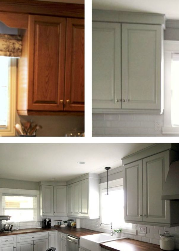 How to update those old kitchen cabinets hometalk for How to update cabinets