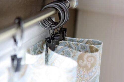Curtain rod too small for curtain pockets   Hometalk