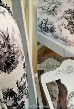plain chairs makeover, painted furniture, reupholster