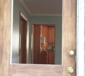 how to make your own decorative glass front door diy doors how to & How to Make Your Own Decorative Glass Front Door | Hometalk Pezcame.Com