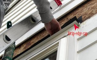 adding a drip cap to existing windows, home improvement, home maintenance repairs, how to, outdoor living, windows