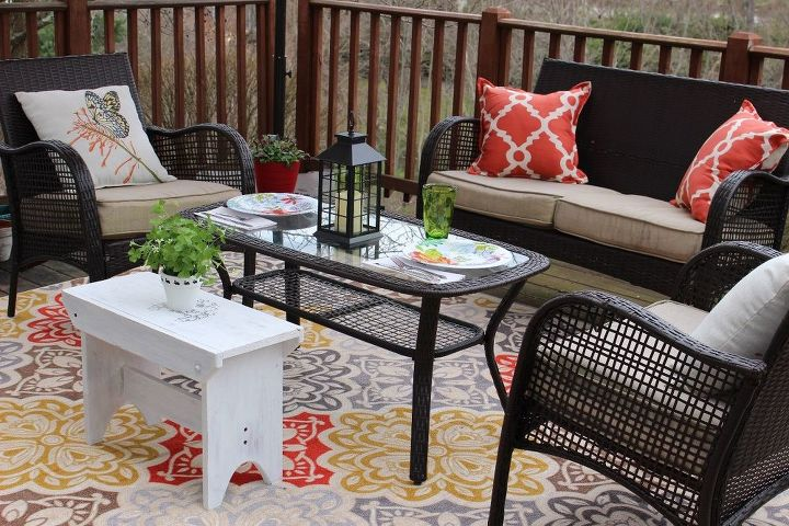 Summer decorating ideas for your deck hometalk for Outdoor summer decorating ideas