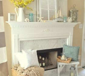 How to decorate this mantle for staging to sell?   Hometalk