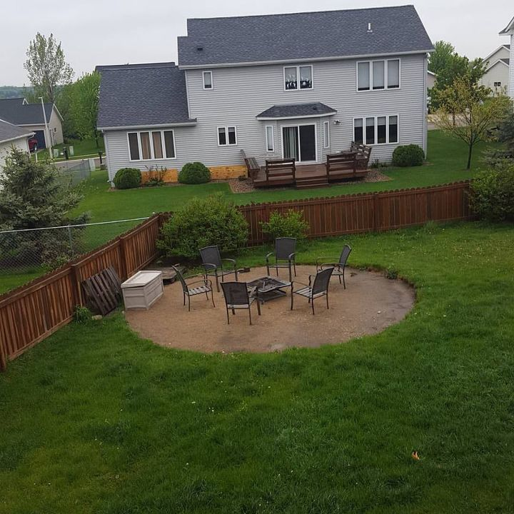 Above Ground Pool Removal Landscaping : Oasis around your intex pool landscape outdoor living designs