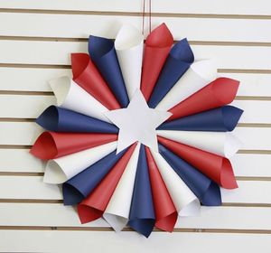 s 16 patriotic wreaths that will fill you with pride, crafts, seasonal holiday decor, wreaths