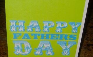 make your own scratch off father s day card, crafts, how to, seasonal holiday decor