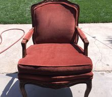 q reupholster or chalk paint help , chalk paint, furniture repair, painted furniture, painting upholstered furniture, reupholster