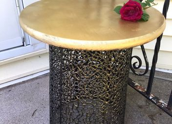 Inexpensive diy cocktail tables hometalk for Diy cocktail table