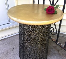 Turn An Inexpensive Wire Basket Into A Gorgeous Diy Table, Diy, How To,
