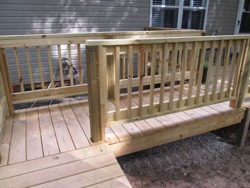New Deck And Railings Should I Paint Stain Or Just Seal