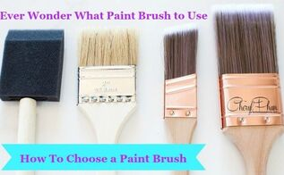 ever wonder what brush to use , painting, tools