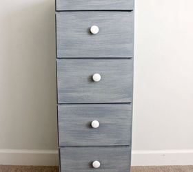 diy antique wood filing cabinet painted furniture