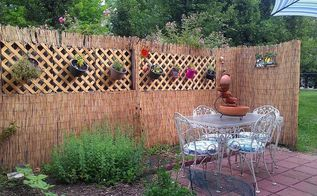 patio fence coverup, fences, patio