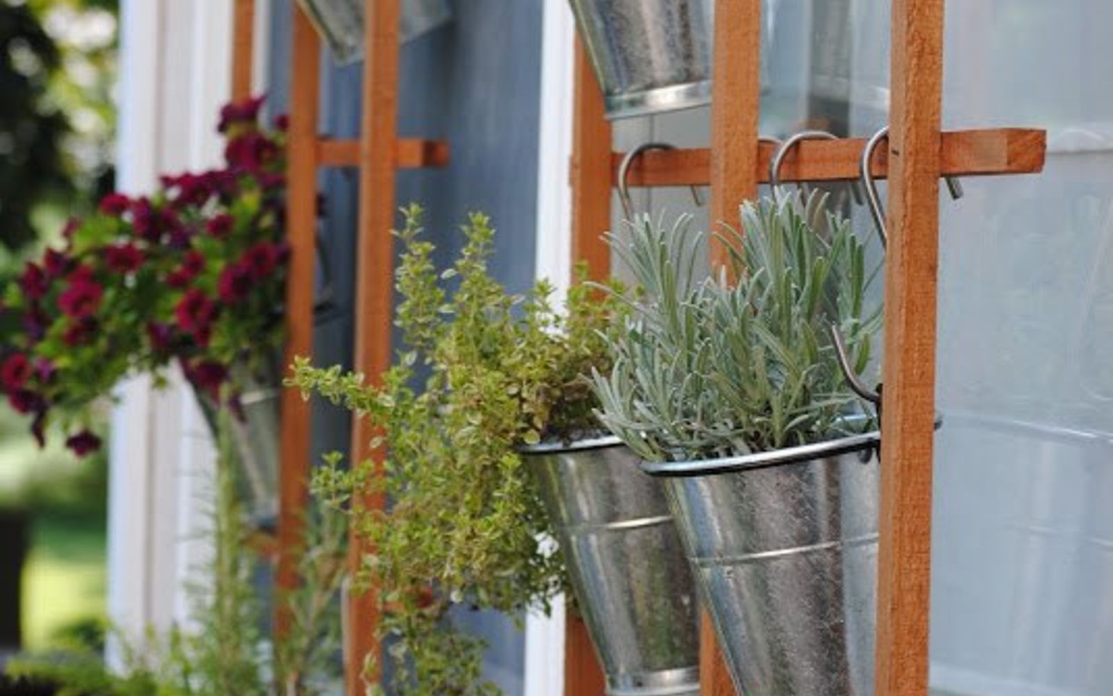 s 17 ways to build a gorgeous garden trellis this summer, gardening, Make a garden grid that doubles as a trellis