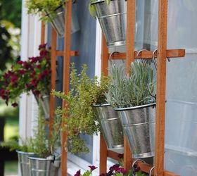 make a garden grid that doubles as a trellis
