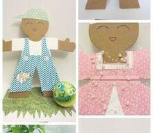 make an adorable cut dress up unisex doll, crafts