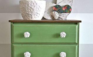 charming rose dresser, painted furniture