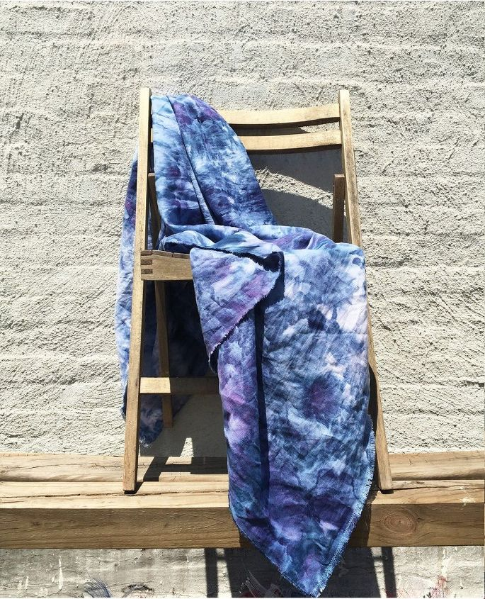 Beach Blanket Experiment: Why Everyone's Copying This Ice Dye Technique
