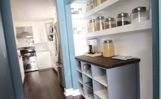 pantry makeover, closet, home decor