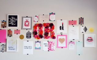 diy gallery wall on a budget in 3 easy steps, crafts, wall decor