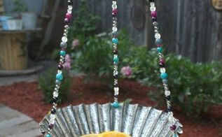 create with beads challenge diy bird feeder, container gardening, gardening, how to, outdoor living