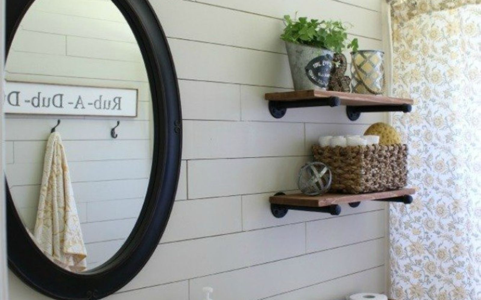 s 12 shiplap ideas that are hot right now, home decor, wall decor, Use cheap underlayment for a budget version