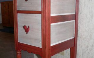 turn an ugly duckling into a showgirl , how to, painted furniture