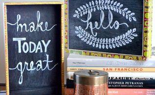 diy cigar box chalkboard, chalkboard paint, crafts, repurposing upcycling