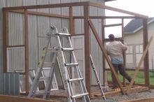 old windows greenhouse, diy, gardening, home improvement, outdoor living