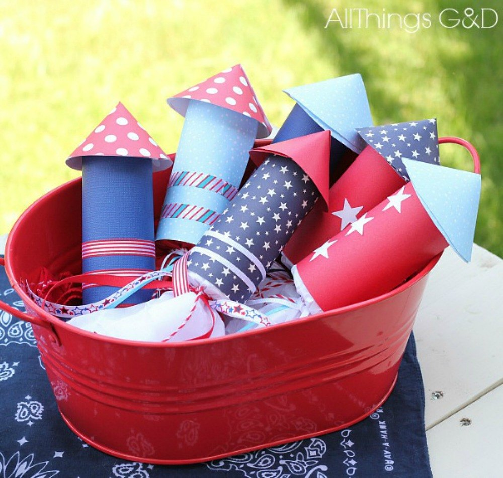 Wow your bbq guests with these 13 july 4th decorations for 4 of july decorations