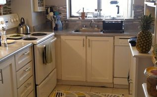 rental apartment kitchen updo , kitchen backsplash, kitchen cabinets, kitchen design